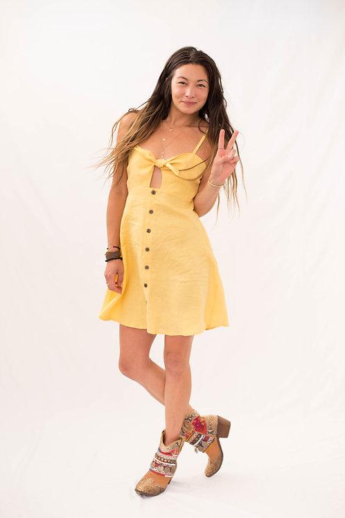 Lucy in Love linen dress