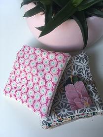 Créations textiles Les Poissons Roses Bijoux made in Besançon