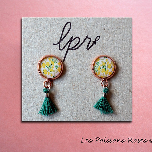 Boutons d'or & Pompons