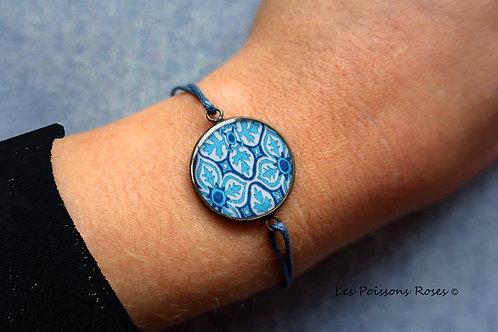 Mosaïques bleues