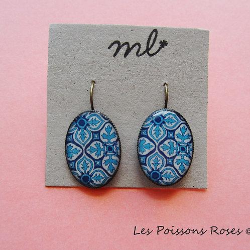 Mosaïques Bleu turquoise