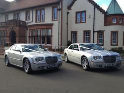 Two Chrysler 300C
