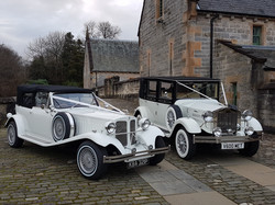 Beauford & Viscount in white