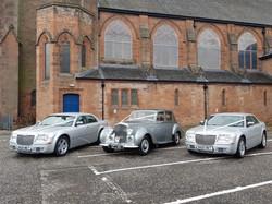 Bentley & 2 x Chrysler 300C