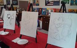Taz sketching