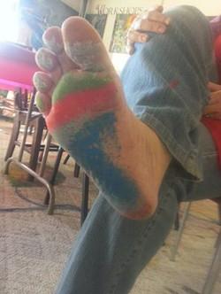 Marcia's foot Art