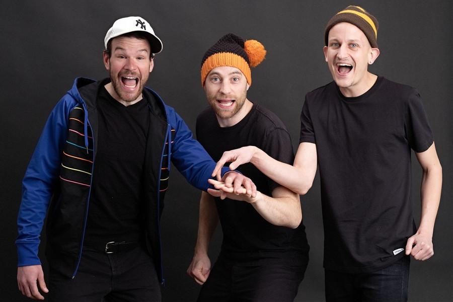 Roger, Jonas & Kevin