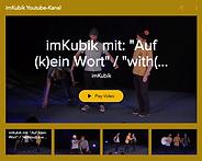 Der Youtube-Kanal von imKubik