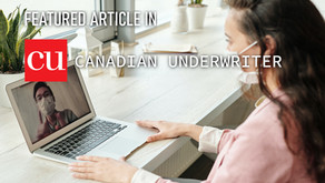 Featured Article in Canadian Underwriter Magazine:  Working Remotely - Future workplaces