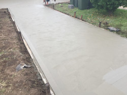 New driveway - Ruse
