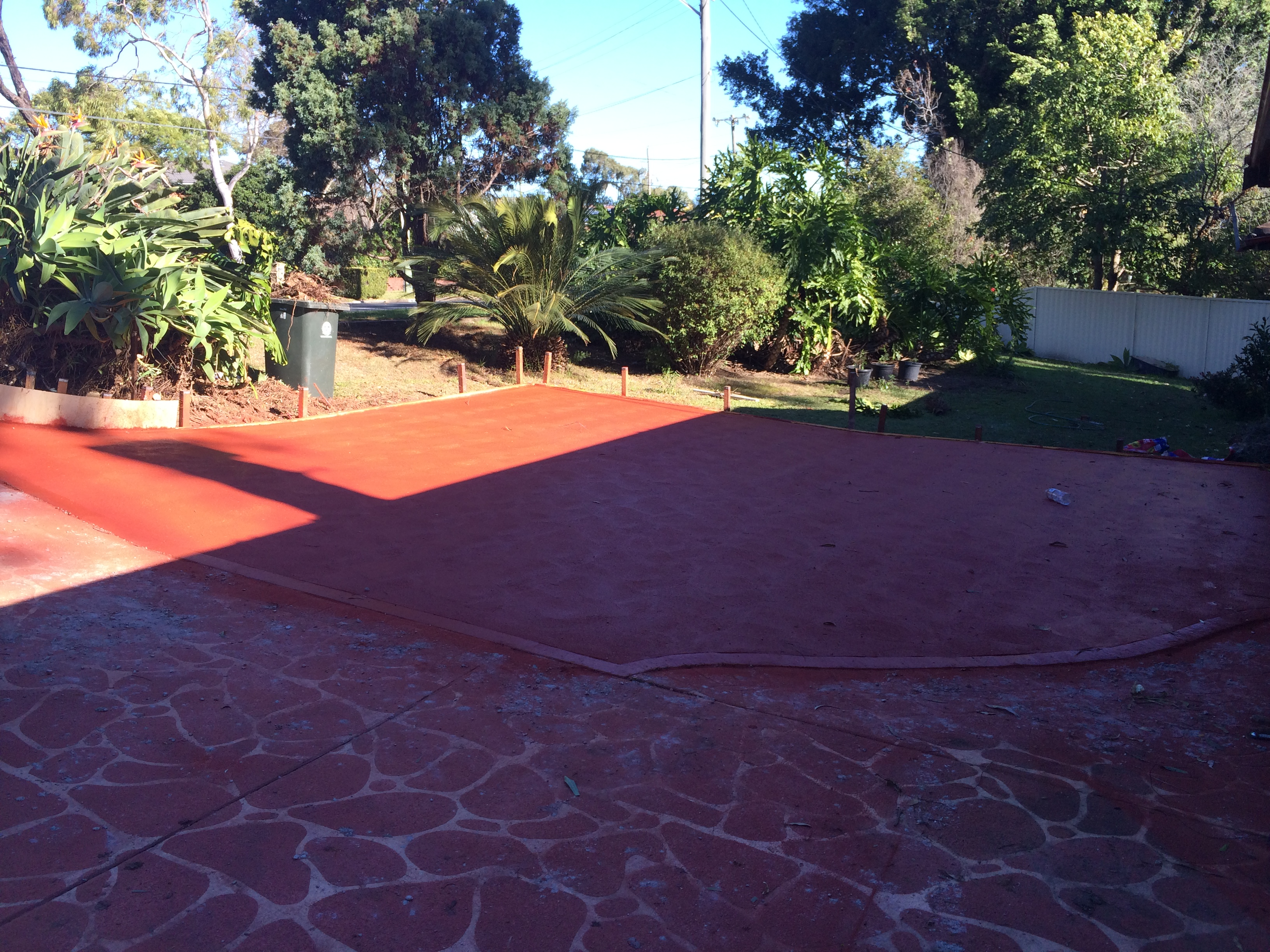 Extension to driveway - North Rocks