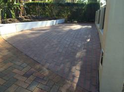Extension to concrete driveway