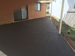 Concreting Pergola Area