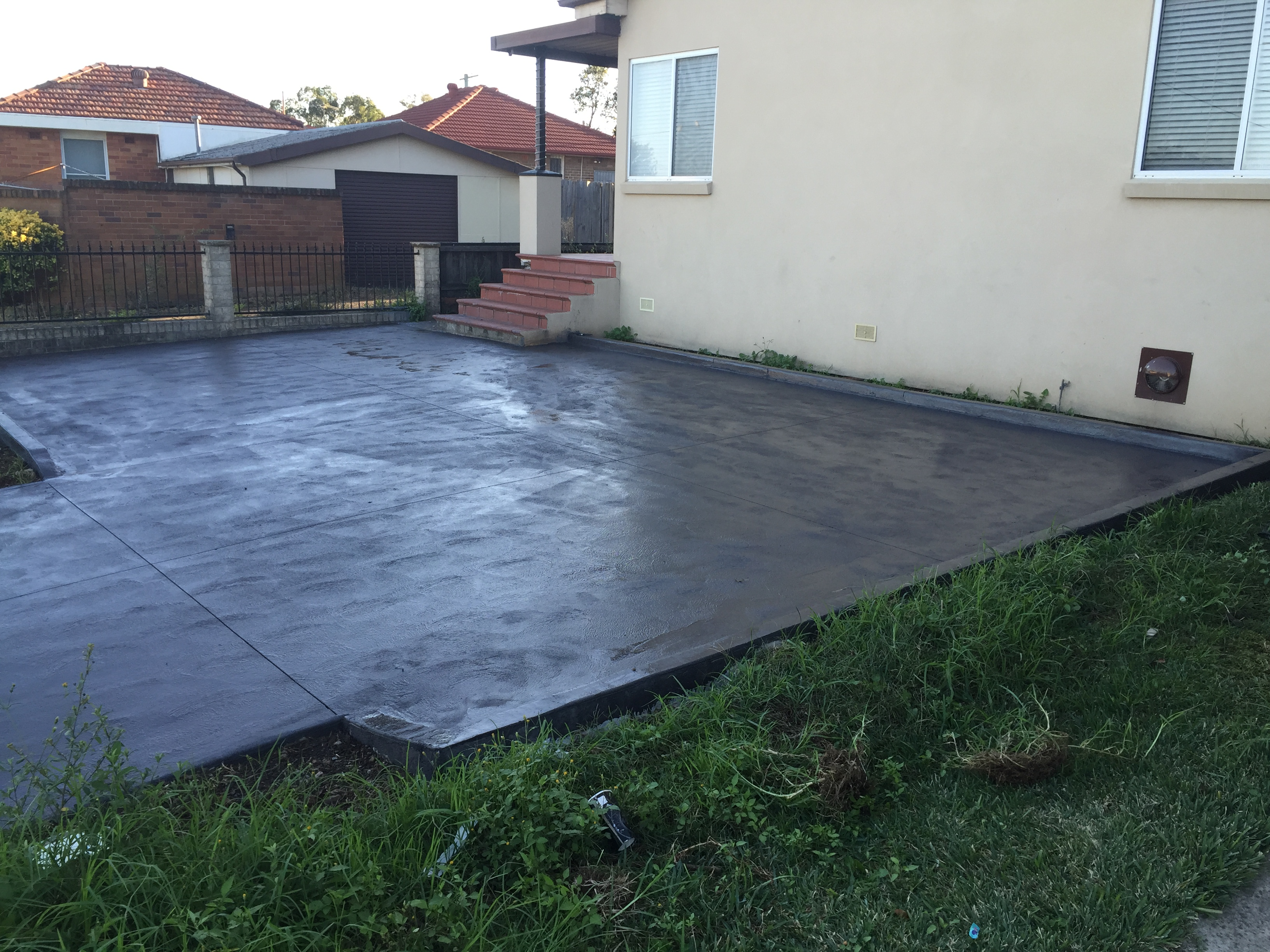 New Driveway and Kerbing - Ermington