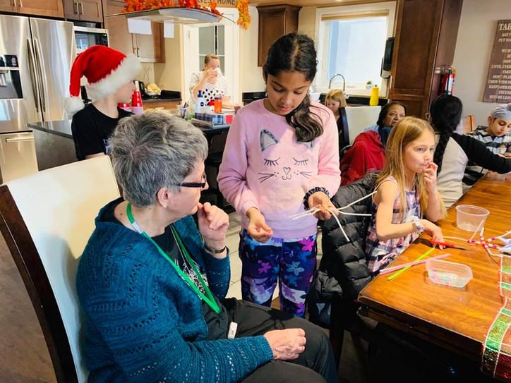 Warm 'n' Cozy - Kids Volunteering