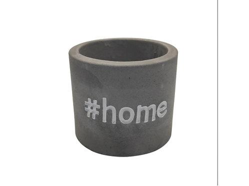 Cachepot Material: Concreto
