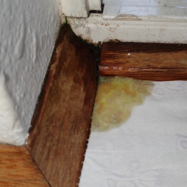 Sliding door sub sill failure
