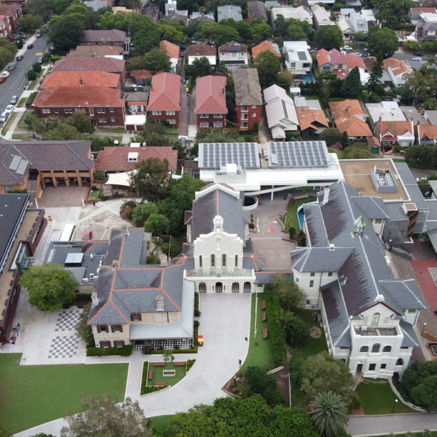Drone aerial and facade audit - Emanuel