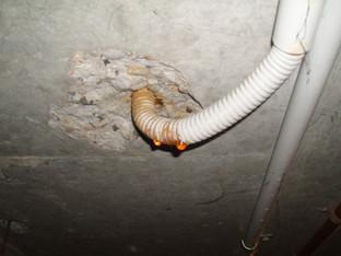conduit leak