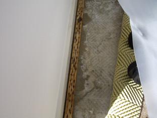 Carpet floor leak