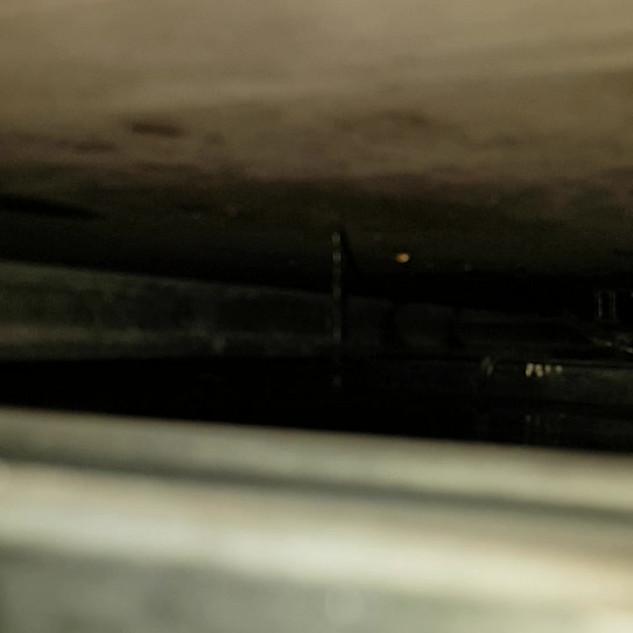 Concrete podium leak