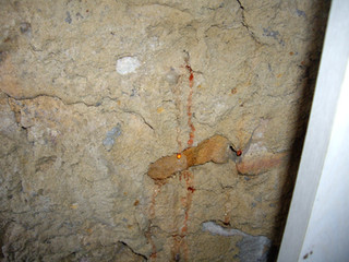Retaining wall leak