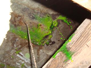 Concrete slab leak