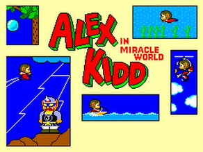 Alex Kidd in Miracle World (1986, Master System)