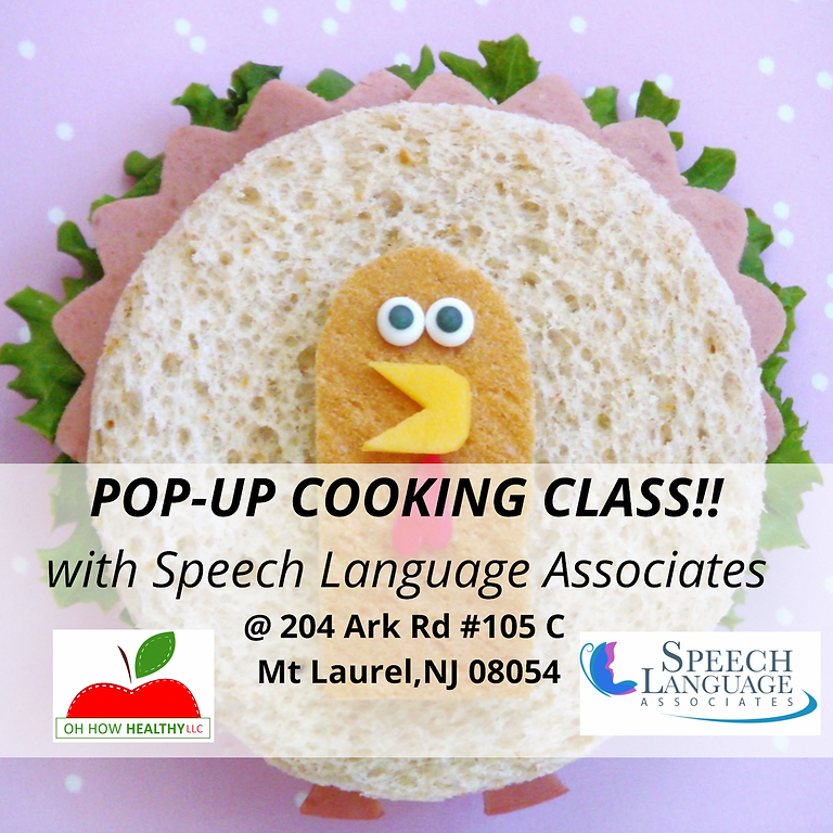 Thanksgiving Weekend Cooking Workshop For Kids (Ages 5-10)