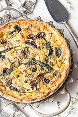 spinach-mushroom-quiche-vegetable-quiche
