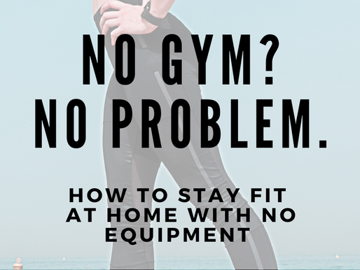 How To Workout At Home With No Equipment