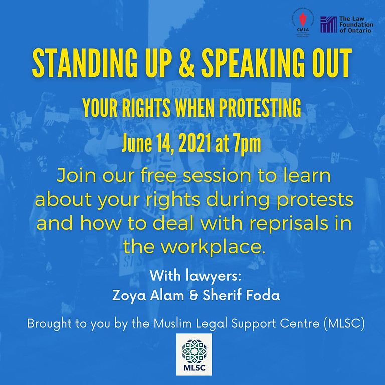 Standing Up and Speaking Out