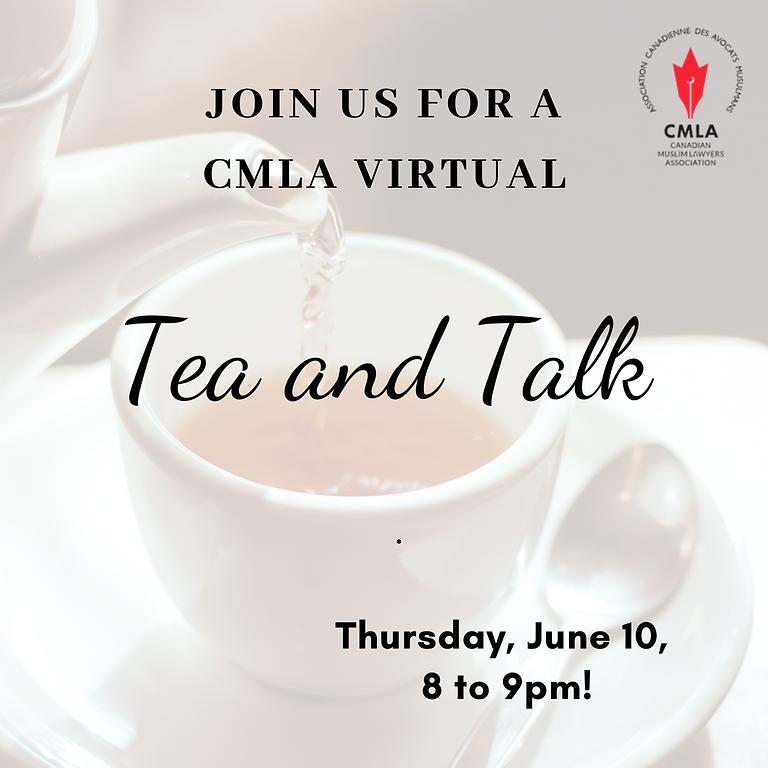 CMLA virtual Tea and Talk