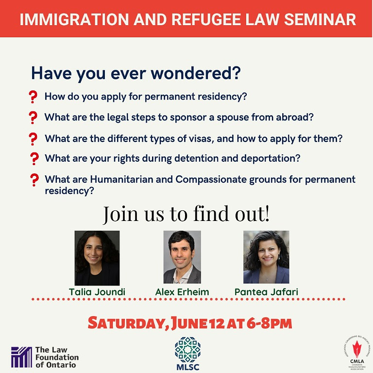 Immigration and Refugee Law Seminar