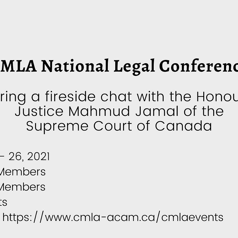 CMLA National Muslim Legal Conference (Virtual!)