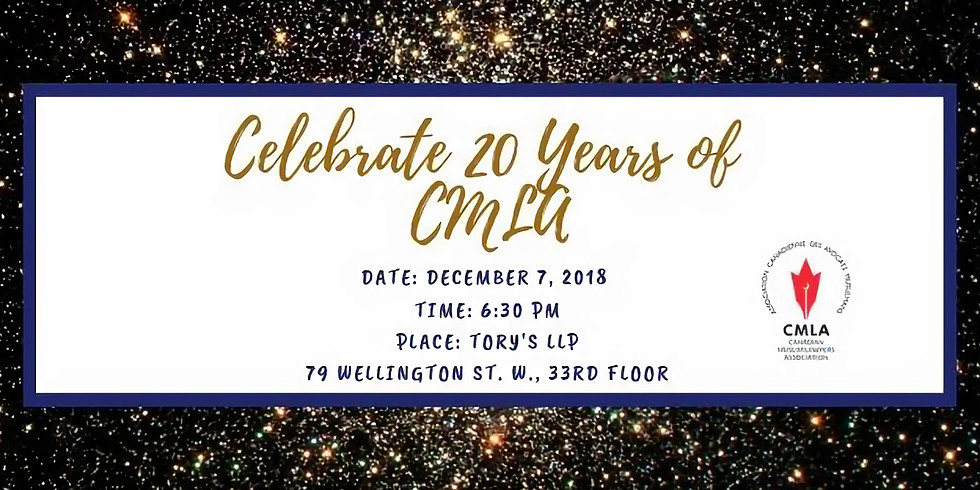 CMLA 20th Anniversary Celebrations!