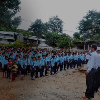 Shree Siddhakali Secondary School- Gorkha, Nepal