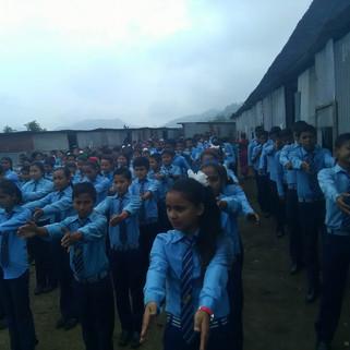 Shree Brindawoti Secondary School- Gorkha, Nepal