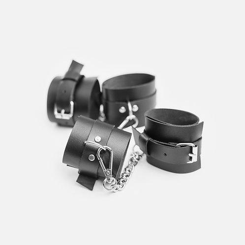Комплект из наручников и понож №128