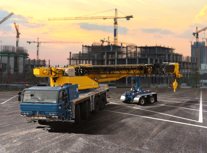 The Terminator 3 Crane