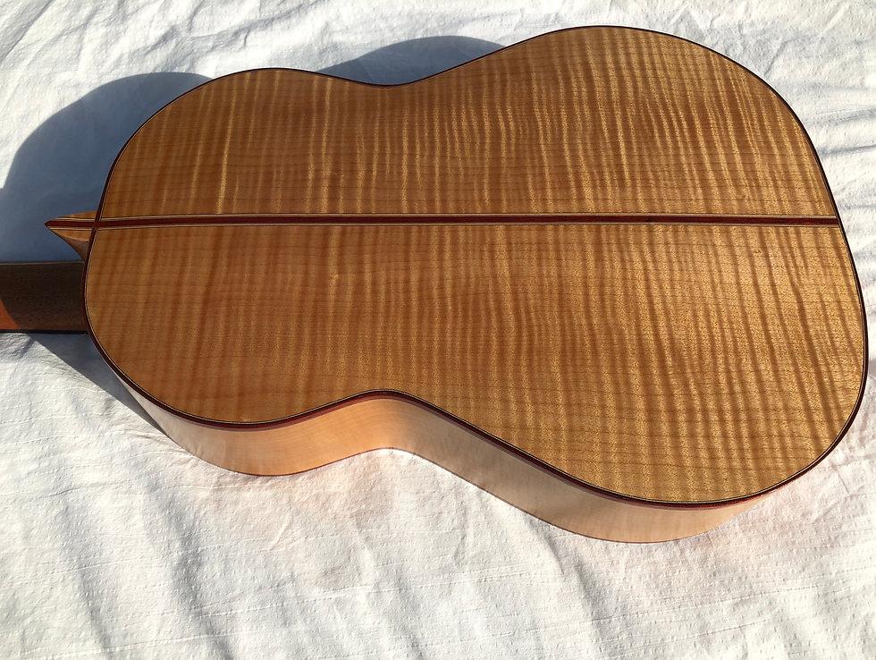 Classical guitar built by Heim