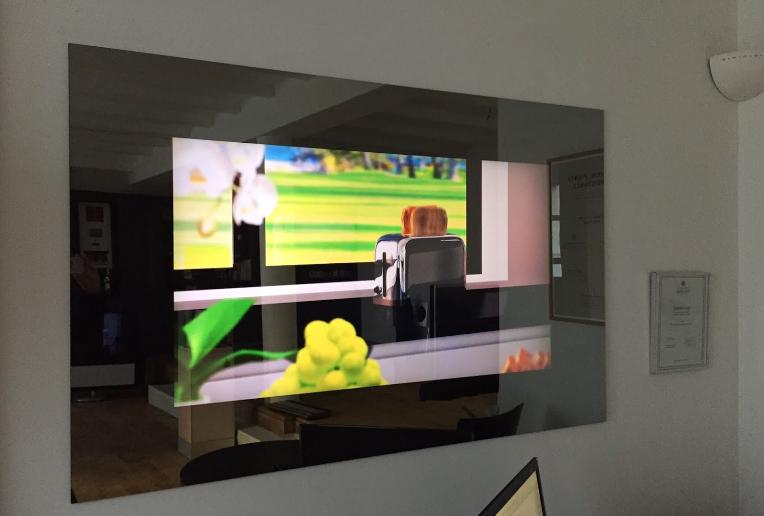 Rev' Mural TV Miroir Corporate