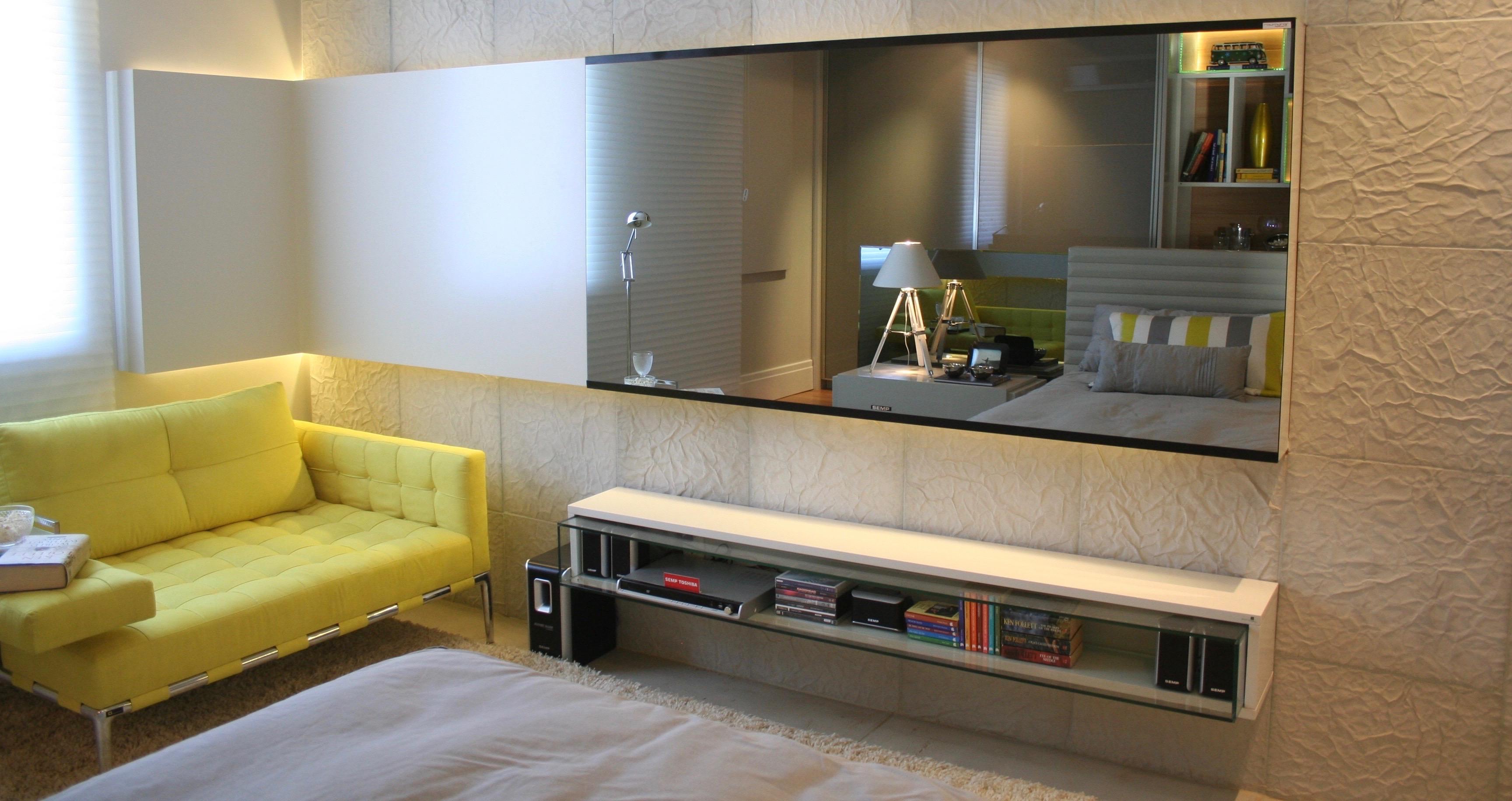 Rev' Mural TV Miroir Résidentiel
