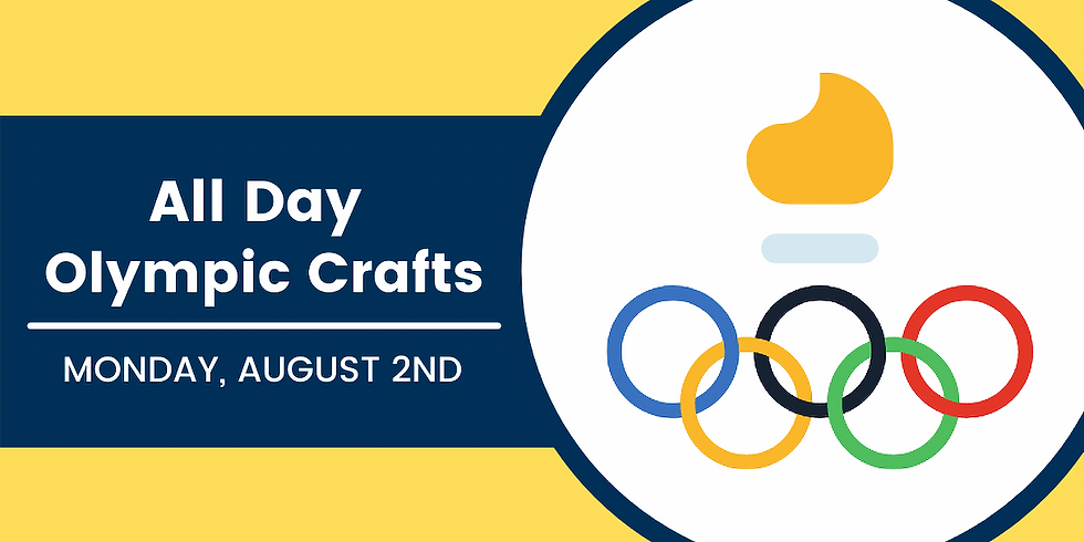 All Day Olympic Crafts