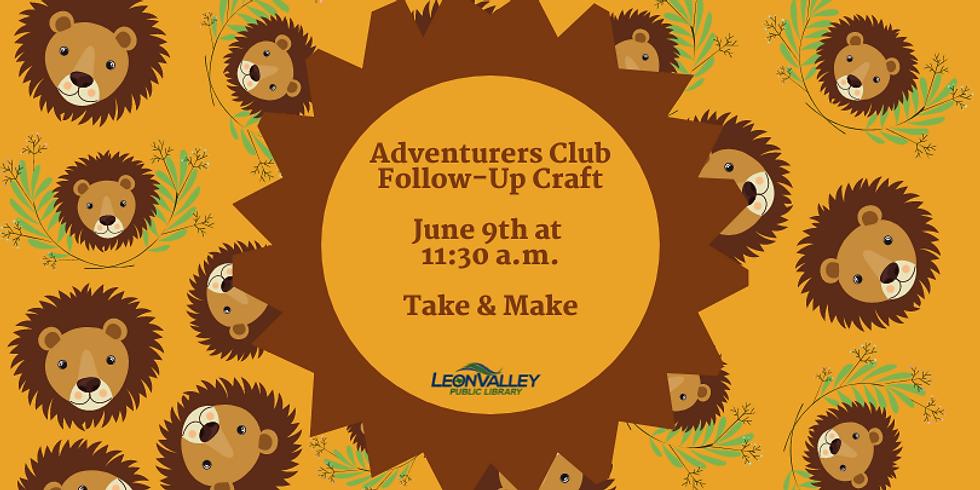 Week 1: Across Africa - Adventurer's Club Craft (1)