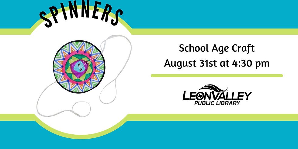 School Age Craft: Spinners