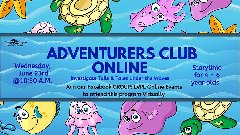 Adventurer's Club Storytime