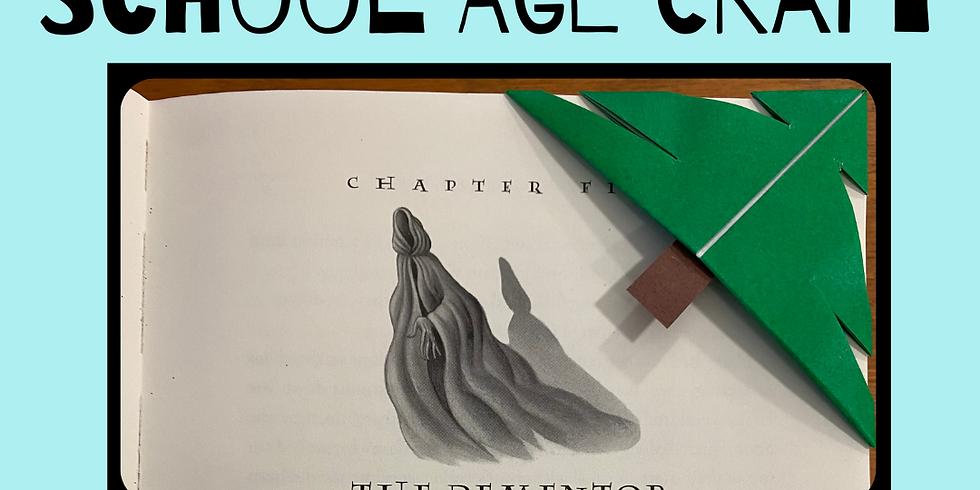 School Age Craft: Tree Bookmarks