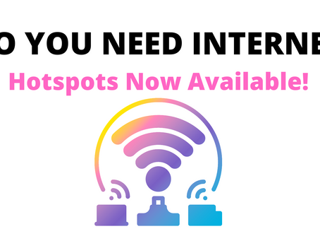 Hotspots Now Available!