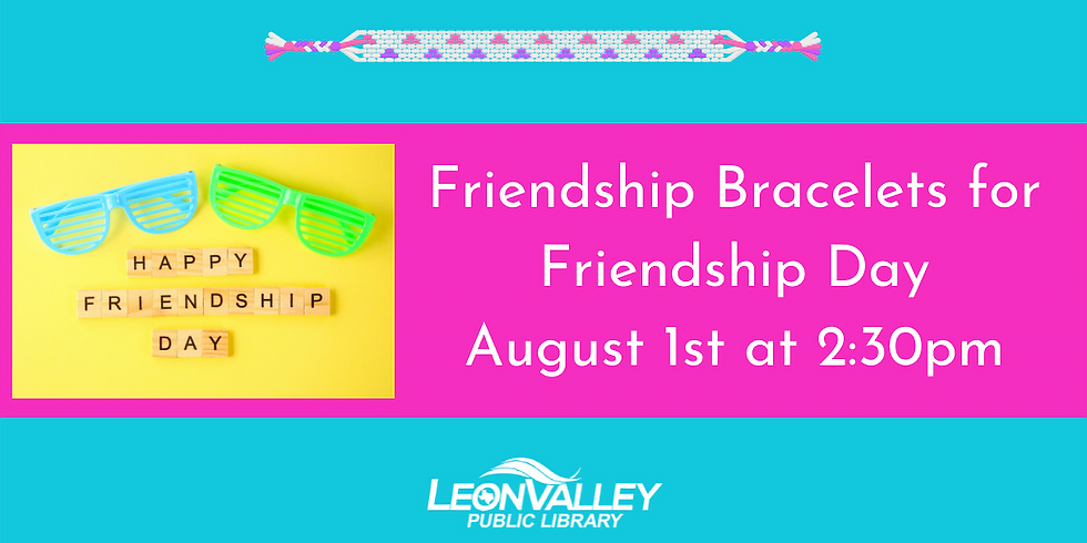 Friendship Bracelet for Friendship Day